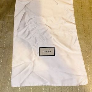 White Gucci Duster